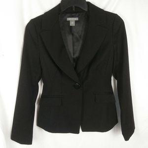 Ann Taylor Single Button Wool Blazer